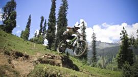 Downhill Cycling Wallpaper Free