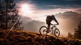 Downhill Cycling Wallpaper Full HD