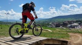 Downhill Cycling Wallpaper HD