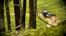 Downhill Cycling Wallpaper High Definition