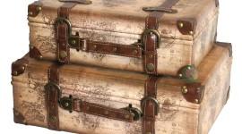 Old Suitcases Desktop Wallpaper HD