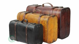 Old Suitcases Wallpaper