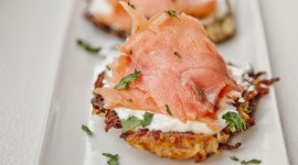 Pancakes With Salmon Image#1