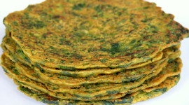 Pancakes With Spinach Photo Free