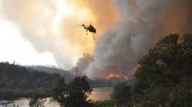Wildfire In Siberia Desktop Wallpaper HD