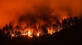 Wildfire In Siberia Wallpaper 1080p