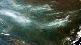 Wildfire In Siberia Wallpaper Download