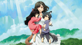 Wolf Children Wallpaper For IPhone