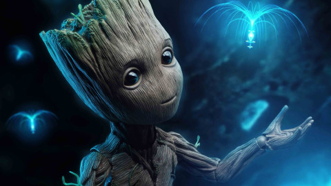 4K Groot wallpapers high quality