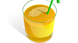 A Glass Of Juice Wallpaper Free