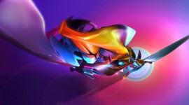 Abstraction Of Colors Photo Free