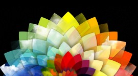 Abstraction Of Colors Wallpaper