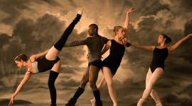 Ballet On The Street Desktop Wallpaper HD