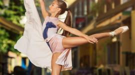 Ballet On The Street Wallpaper