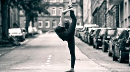 Ballet On The Street Wallpaper Download Free