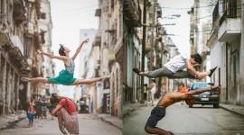 Ballet On The Street Wallpaper For Desktop