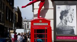 Ballet On The Street Wallpaper Free