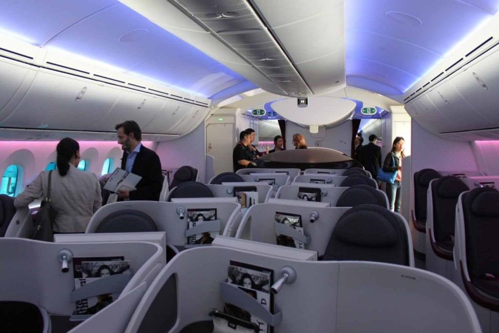 Business Class On The Plane Wallpapers High Quality