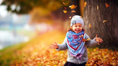 Child Autumn wallpapers high quality