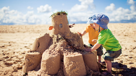 Child Sand wallpapers high quality