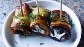 Eggplant Rolls Desktop Wallpaper