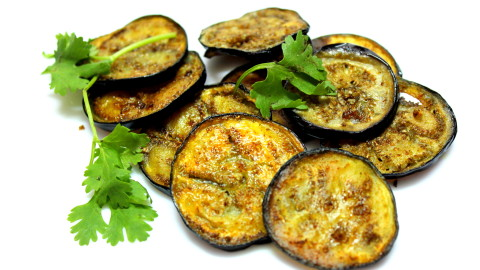 Fried Eggplant wallpapers high quality