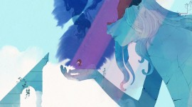 Gris Game Wallpaper For PC