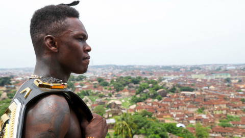 Israel Adesanya wallpapers high quality