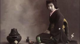 Japanese Tea Wallpaper Background