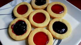 Jelly Cookies Wallpaper Background