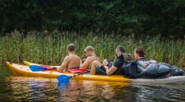 Kayaking On The Lakes Best Wallpaper