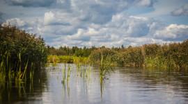 Kayaking On The Lakes Wallpaper Background