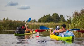 Kayaking On The Lakes Wallpaper Download