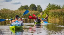 Kayaking On The Lakes Wallpaper Download Free