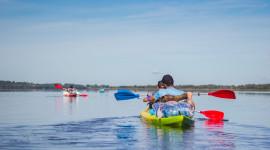 Kayaking On The Lakes Wallpaper Free