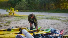Kayaking On The Lakes Wallpaper Full HD