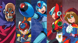 Mega Man x Collection Pics