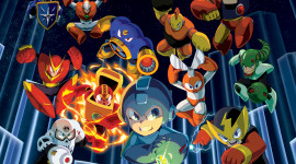 Mega Man x Collection Wallpaper For IPhone
