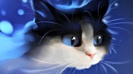 Neon Cat Photo Download