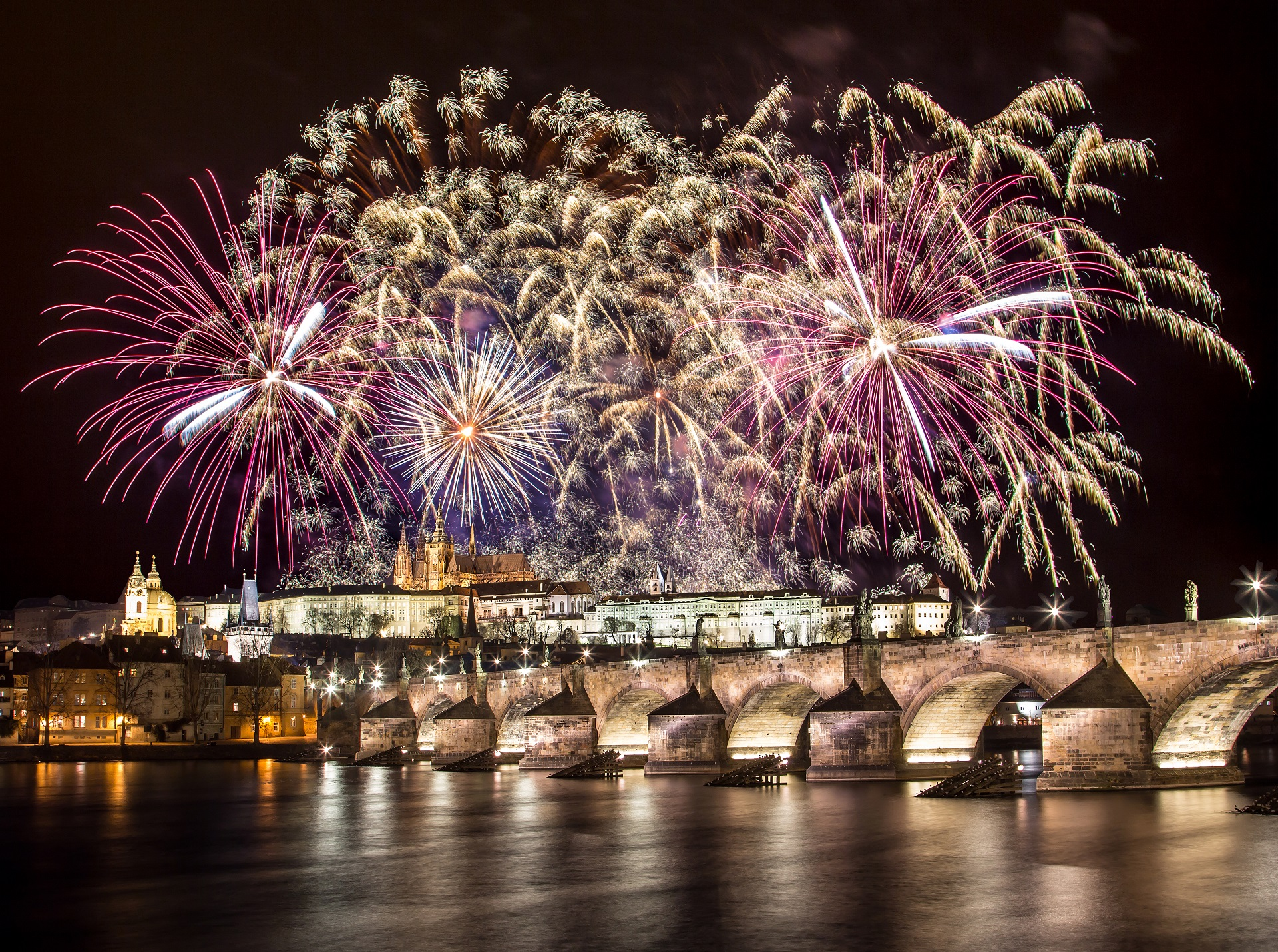 Prague For The New Year Wallpapers High Quality  Download Free