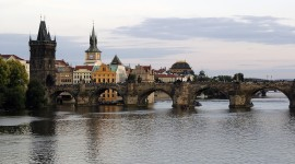 Prague For The New Year High Quality Wallpaper