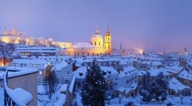 Prague For The New Year Wallpaper Full HD