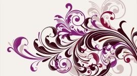 Purple Swirl Aircraft Picture