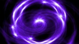 Purple Swirl Photo
