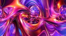 Purple Swirl Wallpaper