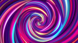 Purple Swirl Wallpaper For PC