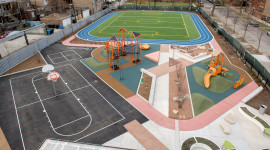 Schoolyard Desktop Wallpaper For PC