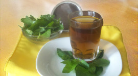 Tea With Mint Wallpaper Free