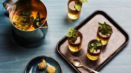 Tea With Mint Wallpaper Full HD