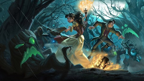 The Witchwood Hearthstone wallpapers high quality